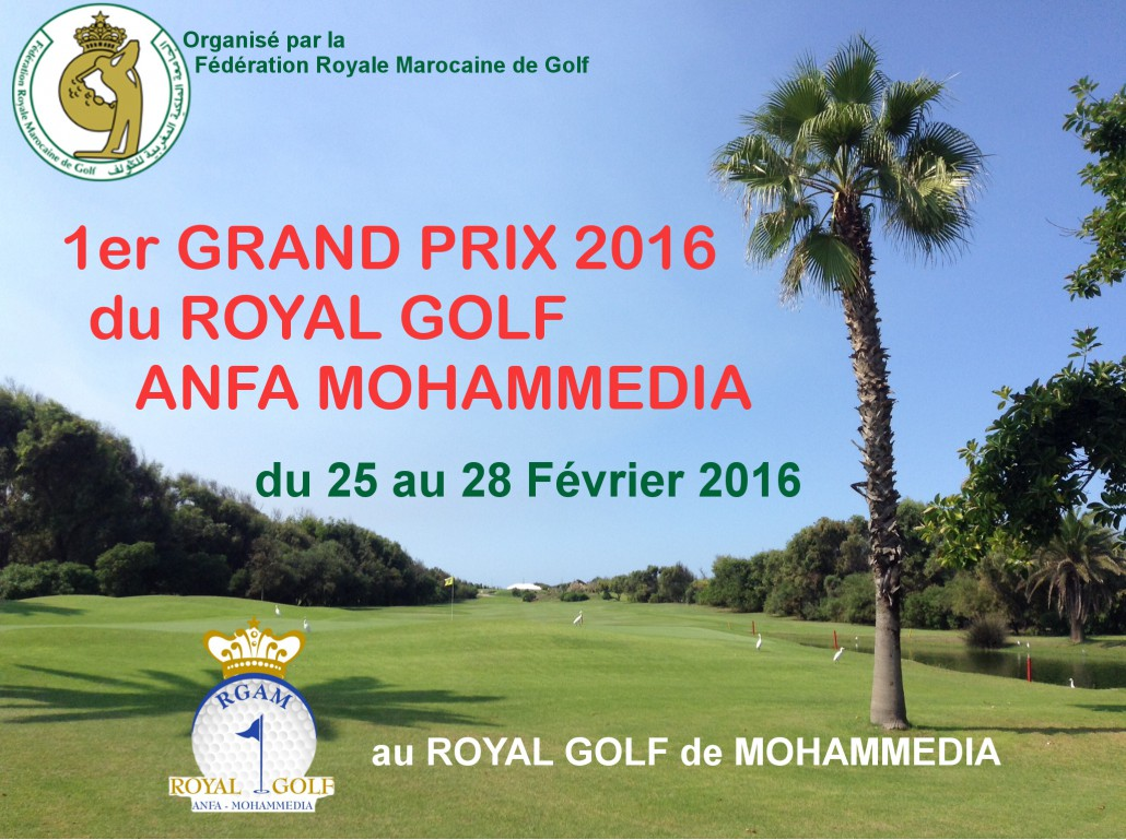 Grand Prix 2016 Royale Golf Anfa Mohammadia