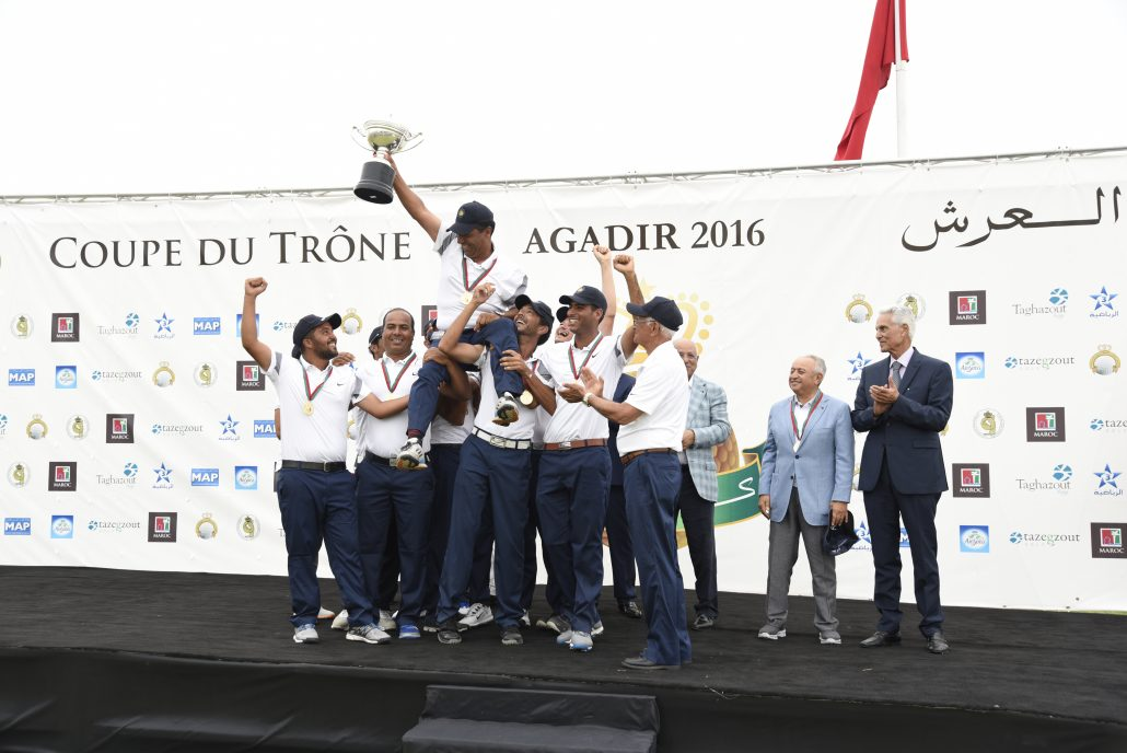 Champion Coupe du Trône 2016 : Le Royal Golf de Dar Es Salam