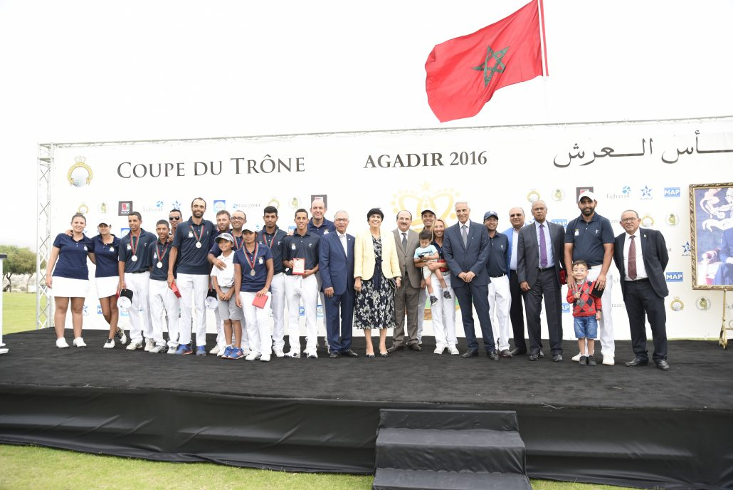 Vice-Champion Coupe du Trône 2016 : Le Royal Golf de Anfa Mohammedia