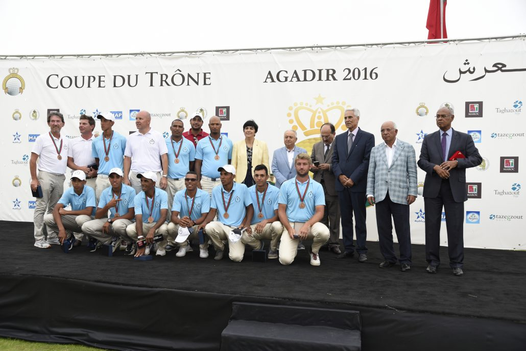 3ème Club Champion de la Coupe du Trône 2016 : Le Royal Golf de Marrakech